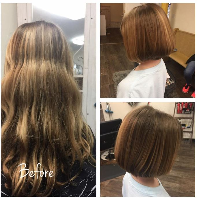 Ashlyns Haircut March 2017