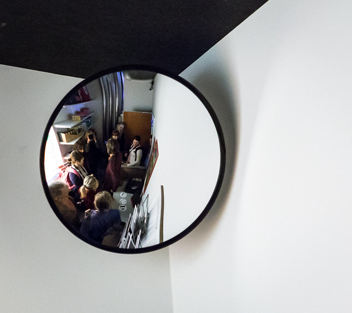 Heureka Tiedekeskus Sähkölä sähkötön kaupunki sähköpakohuone pakohuone peli sähkökatko peilikuva