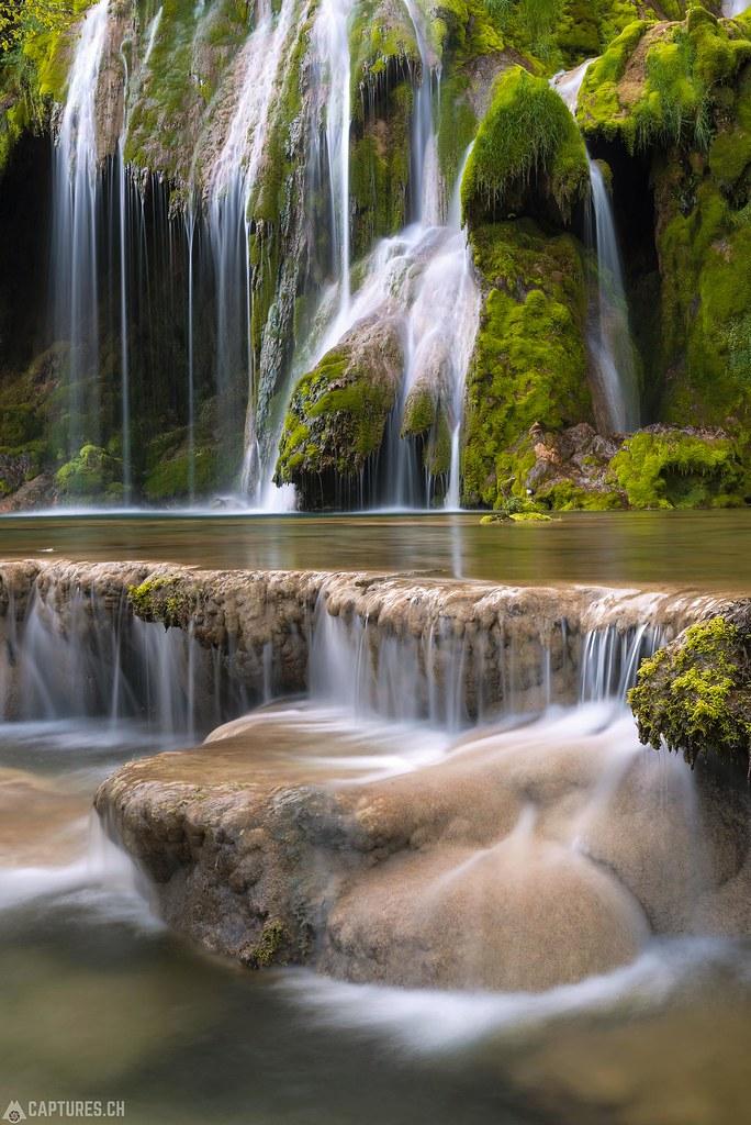 Cascades de tufs 4 - Jura France