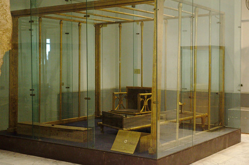 Bed And Other Furniture Belonging to Queen Hetepheres