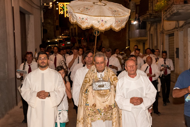 La processione della reliquia. - The procession of the relic. ©giuseppepipia.com