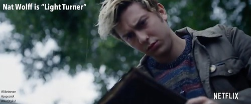 "Nat Wolff is ""Light (Turner)"" in ""Death Note"""