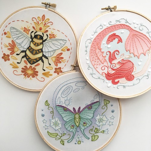Little dear embroidery kits!!