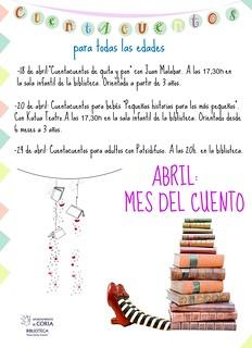 Día Internacional del Libro en la Biblioteca Municipal de Coria