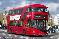 Wrightbus NRM NBFL - LTZ 1439 - LT439 - Dulwich Library 12 - Go Ahead London - London 2017 - Steven Gray - IMG_8488