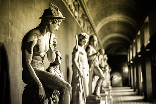 Sculptures chill out at Thorvaldsen's Museum, Copenhagen | by Agent Smith