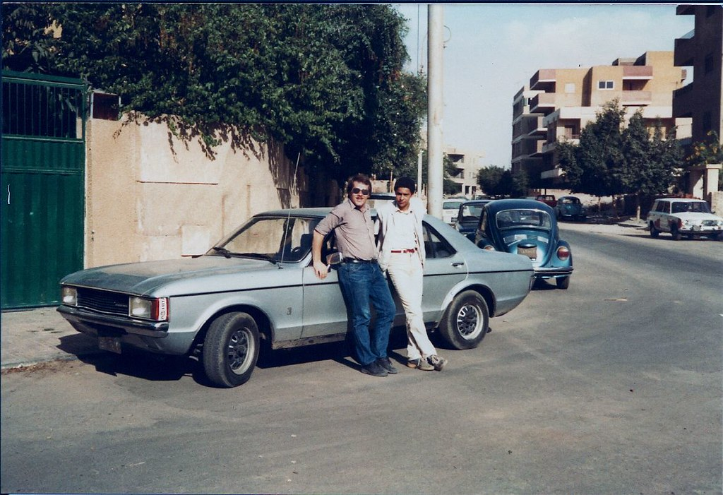 me and my granada 2 0l in egypt cairo heliopolis in 1983 flickr