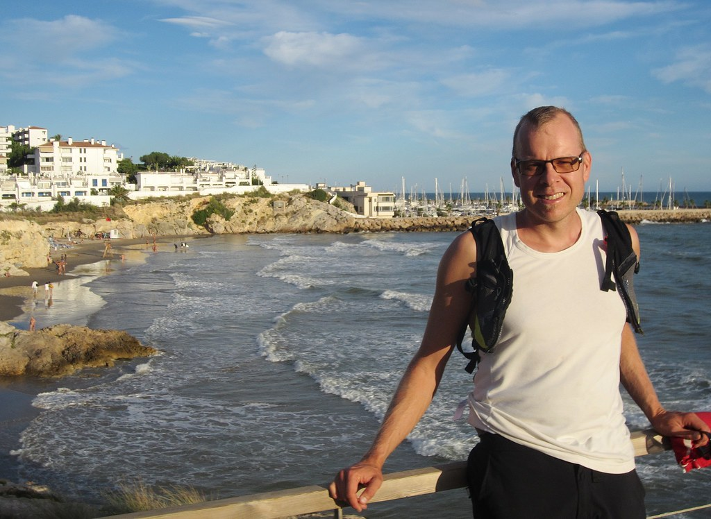Me in Sitges