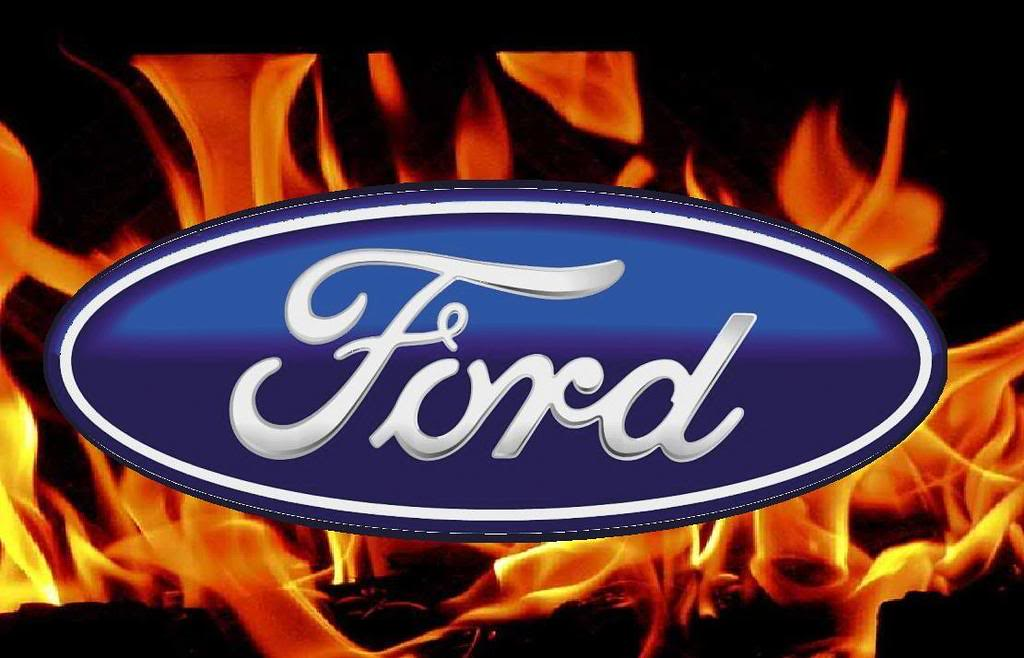 Ford logo in flames mark spud russell flickr ford logo in flames by spudy68 voltagebd Choice Image