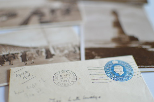Vintage 1942 Letter and Photographs | by jeffdjevdet