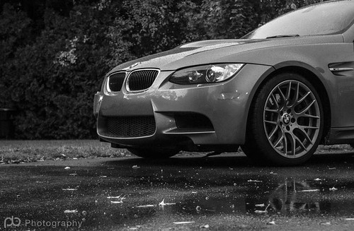 BMW in the rain | by M. Keefe