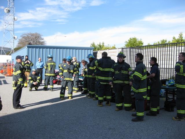Fire Cadet Training