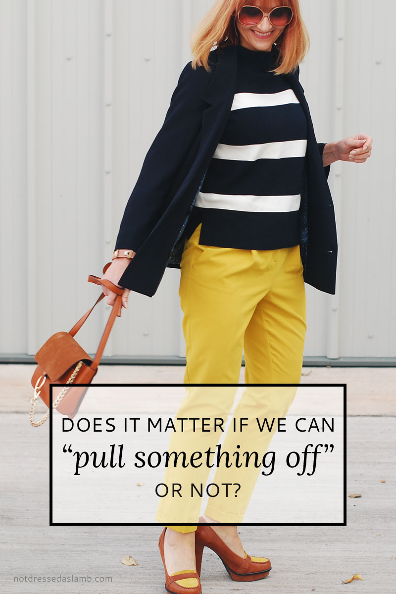 "Does It Matter Whether We Can ""Pull Something Off"" Or Not? 
