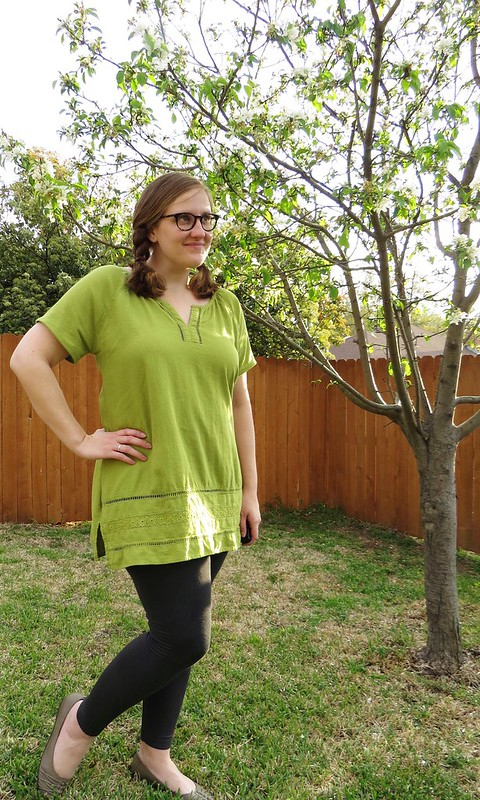St Patrick's Day Tunic - After
