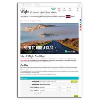 Visit Isle of Wight - Enterprise car hire. | by s0ulsurfing