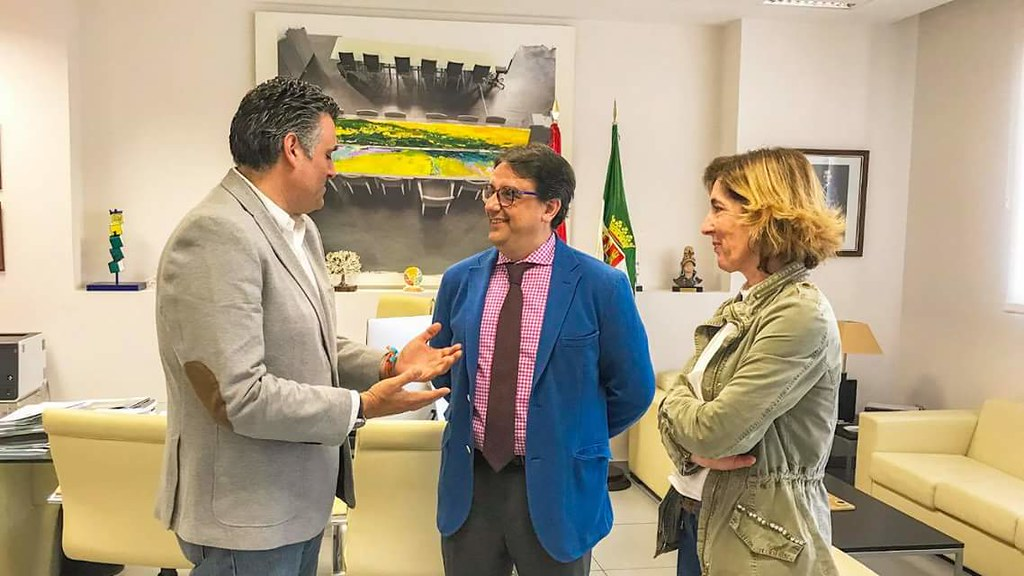 Compromiso de la Consejería de Sanidad y el SEPAD con el Ayuntamiento para finalizar las obras del Centro de Día de la Ciudad de Coria
