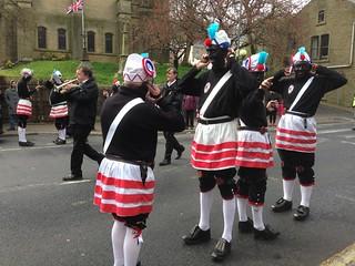 Britannia Coco-nut dancers, Bacup