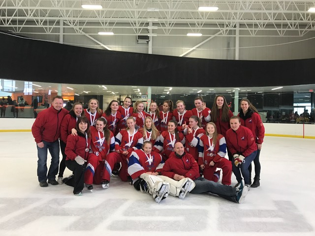 Feb 26, 2017 - AA Provs Calg - U16AA Impact wins Bronze