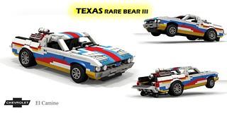 Chevrolet El Camino - Texas Rare Bear III Wheelstander