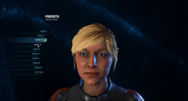 Mass Effect Andromeda - Female Head 3