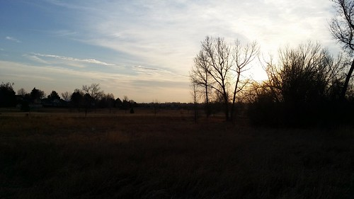 #tommw 38F light breeze. Partly cloudy