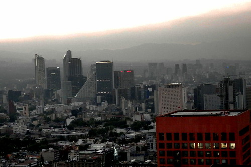 Mexico city skyline | by cuauh_98