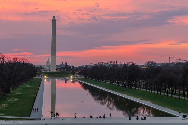 DC National Mall Sunrise 01