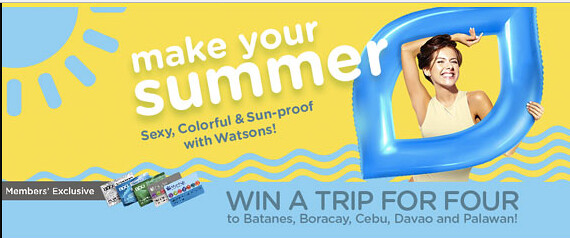 make your summer watsons