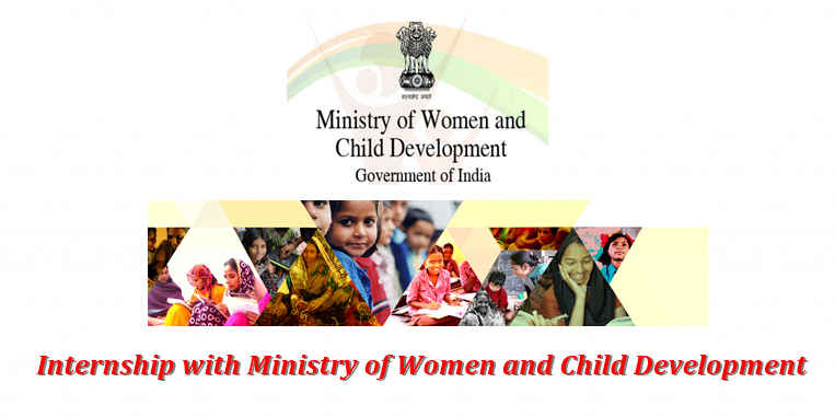 Internship with ministry of women and child development