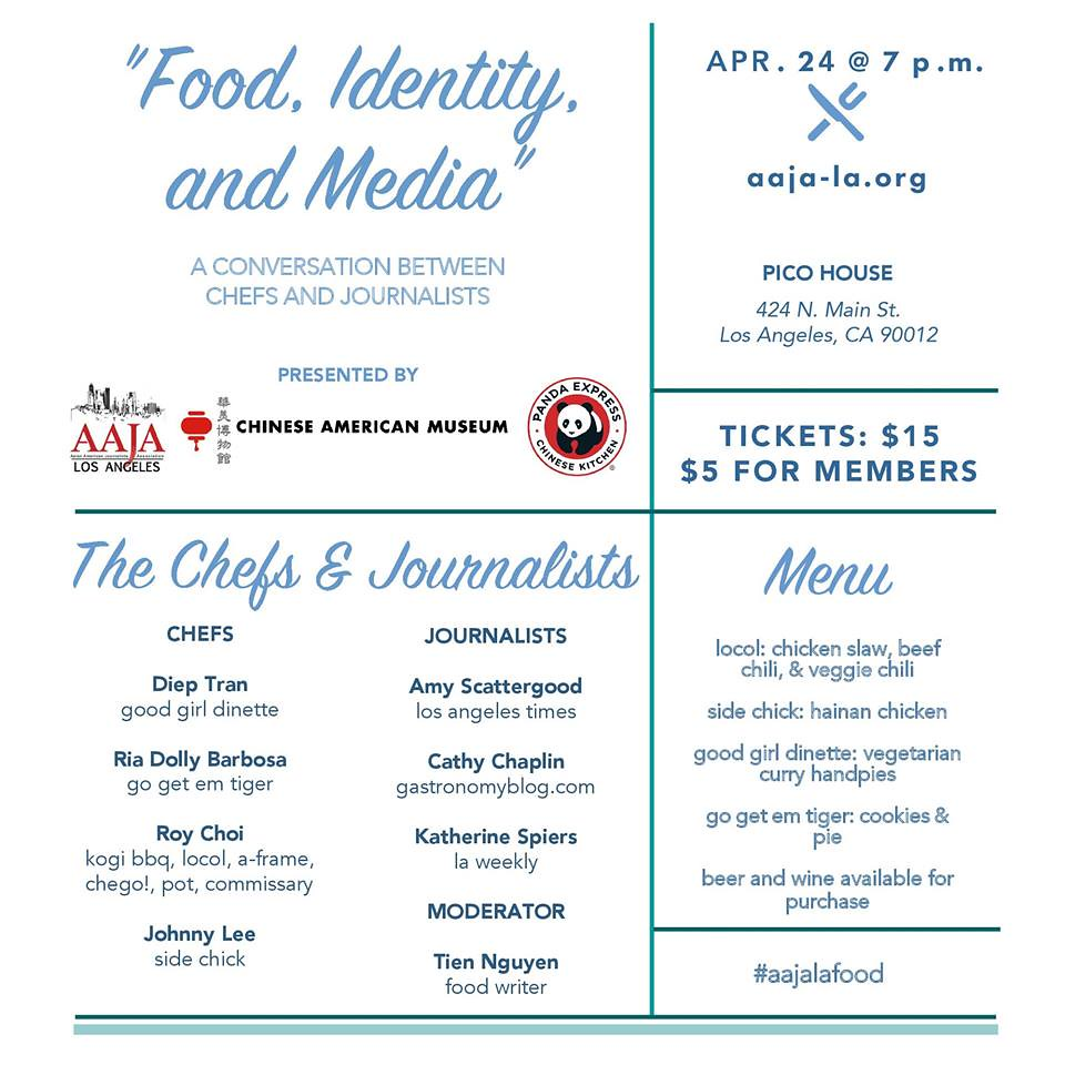 AAJA: Food, Identity and the Media: A conversation between chefs and journalists