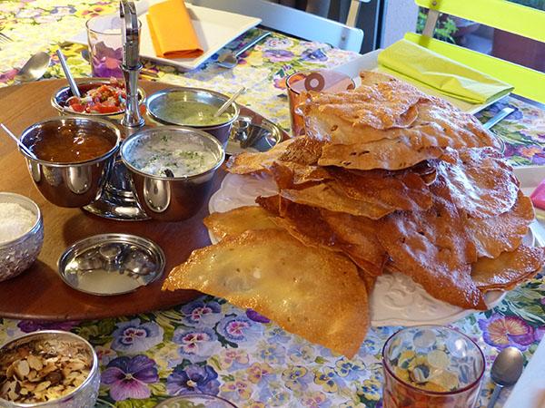 apéritifs indiens