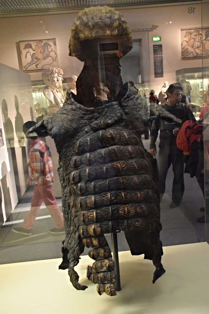dsc 8026 british museum london crocodile skin suit of armo flickr