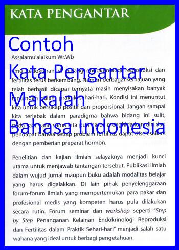 Contoh Kata Pengantar Makalah Bahasa Indonesia Contoh Kata Flickr