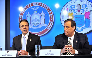 Governor Andrew Cuomo and Governor Chris Christie Announce Additional Screening Protocols for Ebola at JFK and Newark Liberty International Airports | by governorandrewcuomo