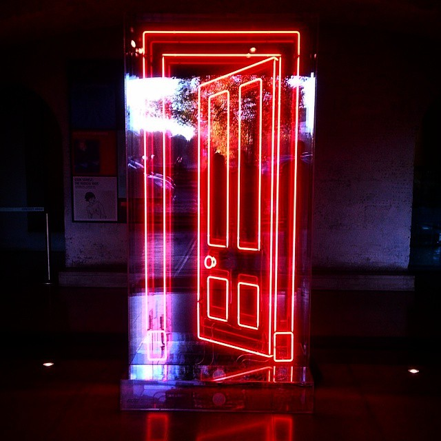 #neon #door #SomersetHouse | & Let me take you to a different dimension. #neon #door #Som\u2026 | Flickr Pezcame.Com