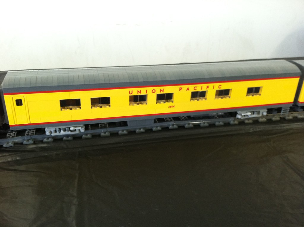 lego union pacific city of los angeles passenger train flickr