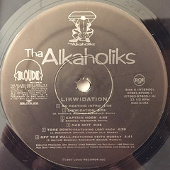 THA ALKAHOLIKS:LIKWIDATION(LABEL SIDE-A)