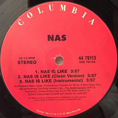 NAS:NAS IS LIKE(LABEL SIDE-A)