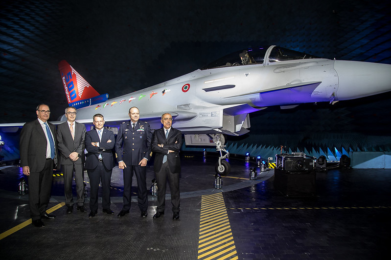 Delivery of the 500th Eurofighter Typhoon