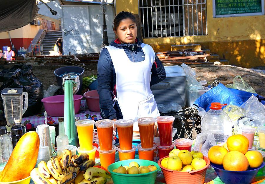Quanajuato Juice Vendor