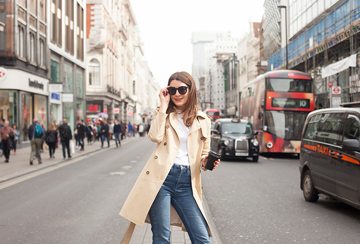Baukjen Brook Trench Coat | London Fashion blogger | Street Style