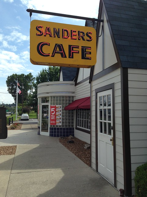 Harland Sanders Cafe and Museum, Corbin KY