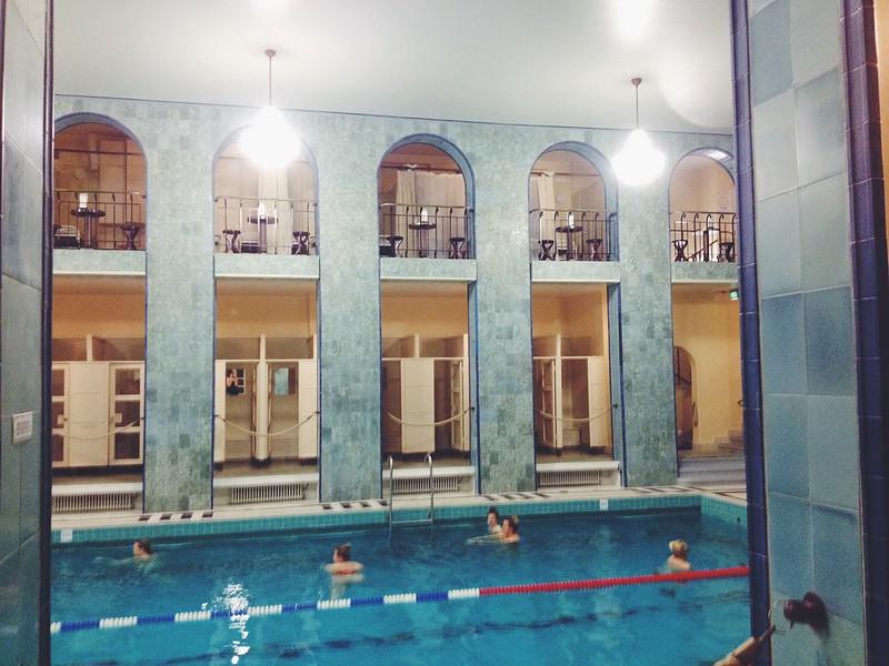 Yrjönkadun uimahalli Helsinki