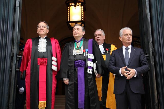 Doctorat Honoris Causa d'Albert II Prince de Monaco en Sorbonne