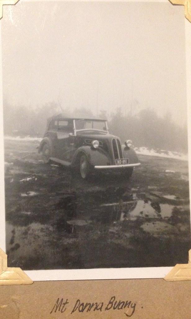 Dads Vintage car. Registration ND 891 Mt Donna Buang, Vic.… | Flickr