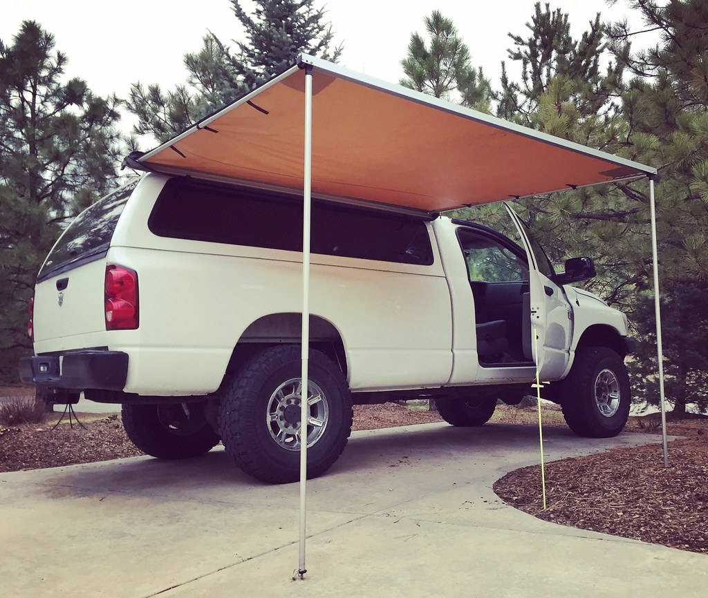 ARB Awning Install On Non-vertical Surface