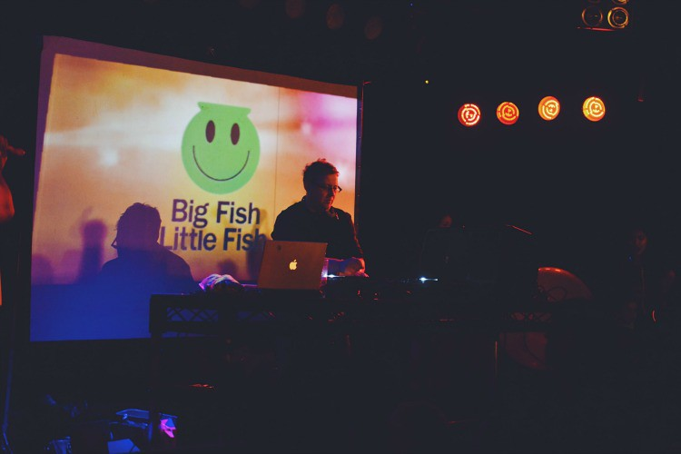 DJ Big fish little fish