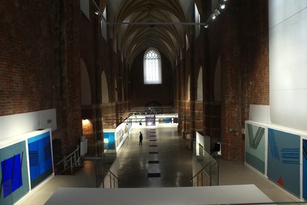 Musée d'architecture dans un ancien monastère de Wroclaw.