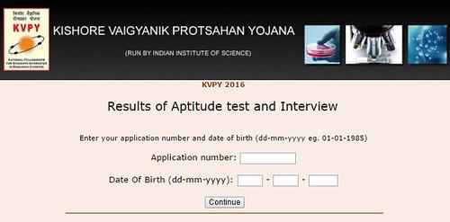 KVPY Marks Check