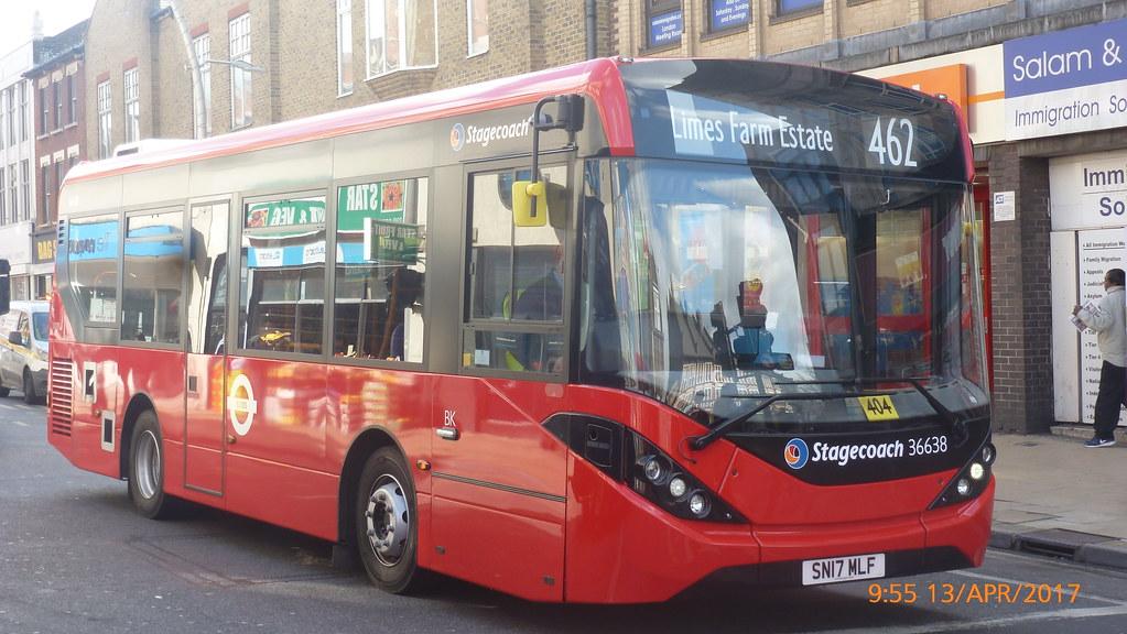 ... P1500550 36638 SN17 MLF at Ilford High Road Cranbrook Road Ilford  London | by LJ61 GXN